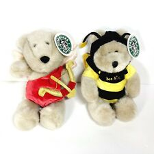 Starbucks Bearistas 9th & 13th Edition Collectible Valentines Day Bears
