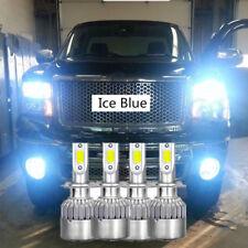 9005 9006 Blue LED Headlight Bulb for Chevy Silverado Tahoe 99-2006 Hi/ Lo Beam