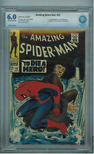 The Amazing Spider-Man #52 (Sep 1967, Marvel) CBCS (not CGC) 6.0 1st Joe Roberts
