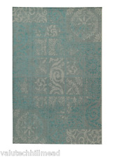 ABC Tappeti Carpet Arona 1 blue Turquoise /Light Grey ( 160 x 230 cm )