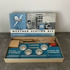 1950s Model Weather Kit Models of Industry California Research Corp. MCM RARE