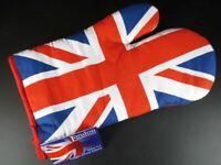 Union Jack Horno Guante Ovenglove, Recuerdo Londres Inglaterra, Nuevo