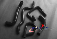 Black Silicone Radiator Hose Kit for Ford Falcon BA BF XR6 Turbo