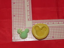 Minnie Mouse Silicone push Mold Cake Pop Fondant Resin Clay Craft Candy A23 Soap