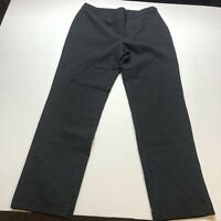 Talbots Black Polka Dot Dress Pants Size 10 A1962