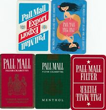 ADS - PALL MALL Cigarettes - 5 -  single vintage swap playing cards