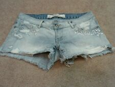 Abercrombie & Fitch Jean Shorts size 00 w24