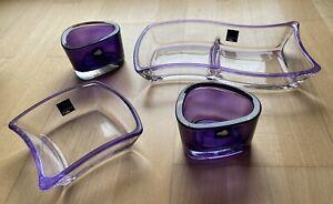 Leonardo Glasschalen und Teelichthalter