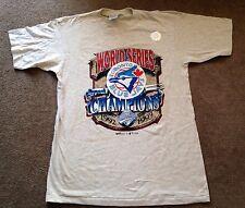 Men's Vintage MLB Toronto Blue Jays 1993 World Series T Shirt Size Large NWT NEW