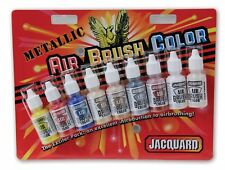 Jacquard Airbrush Colors - Metallic Exciter Pack (9 x 14ml Bottles)