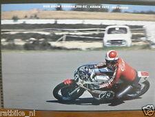S0204-PHOTO- ROB BRON YAMAHA 250 CC ASSEN 1973 NO 29 CANON SHELL MOTO GP