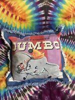 """Vintage Disney Dumbo Pillow 16"""" x 16"""""""