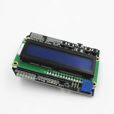 LCD Board 1602 Keypad Shield Blue Backlight LCD Duemilanove Robot for Arduino