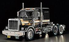 Tamiya King Hauler Black Edition RC Tractor Truck 1 14th Car Kit 56336
