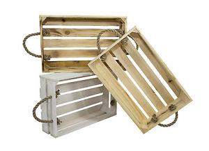 Dekokisten aus Holz Holzkiste Weinkiste Obstkiste Allzweckkiste Holzbox (5)