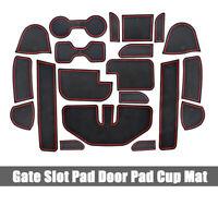 For Nissan Navara NP300 D23 2015-2016 Gate Slot Pad Door Pad/Cup Mats 20pcs