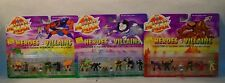 Mighty Max Heroes & Villians Collection 1,2,3 Skull Master War Monger Lava Lord