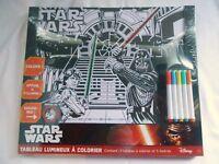 "Tableau Lumineux A Colorier ""STAR WARS"" - Lansay - Disney - Neuf"
