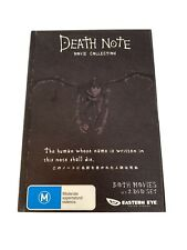 Death Note Movie Collection DVD