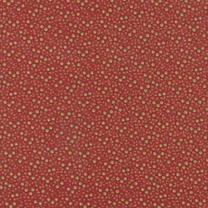 Moda French General Petite Prints Floral Noisette Fabric in Rouge Red 13692-12