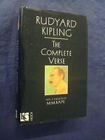 Complete Verse by Kipling, Rudyard Hardback Book The Fast Free Shipping