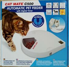 Cat Mate C500 Automatic Pet Feeder With Digital Timer