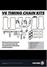 VE VZ WM Statesman Commodore Holden Timing Chain Kit V6 **GENUINE** 92282425/6/7