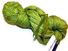 Shaded Green LETTUCE Lg Skein 210yd Malabrigo WORSTED Pure SOFT Merino Wool YARN