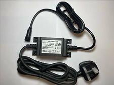 Waterproof Replacement for VEGA AC/DC Power Adapter model EHT-5-IP 12VDC MAX 5W