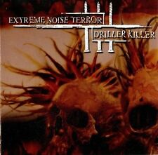EXTREME NOISE TERROR / DRILLER KILLER - Split  [Ltd.] MCD