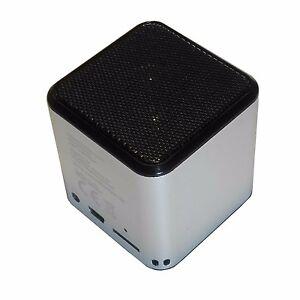 BLUETOOTH LAUTSPRECHER MINI MP3 Box Radio Micro SD Slot Akku Mikrofon Smartphone