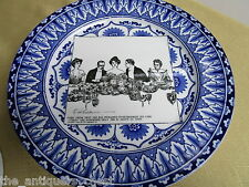 Royal Doulton Gibson Girl Plate - She Has Remained In Retirement  [*a1]