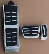 Audi RS6 4G original Pedalset A6 S6 Pedale Pedalkappen Fußstütze footrest A7 RS7