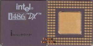 CPU Prozessor Intel i486 DX SX729 33 MHz FSB Sockel 3 A80486DX-33 Retro* c618