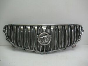 2013-2017 BUICK ENCLAVE FRONT RADIATOR GRILLE GRILL COVER PANEL W/ EMBLEM OEM