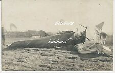 Fliegertruppe deutsches Flugzeug Notlandung/crash-Unfall  1.WK (t565)