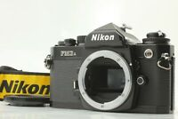 【MINT】 Nikon FM3A Black 35mm SLR Film Camera Body w/ Strap from JAPAN T112