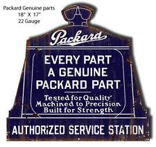 Packard Service Station Laser Cut Out Garage Art Metal Sign 17x18 RVG368S