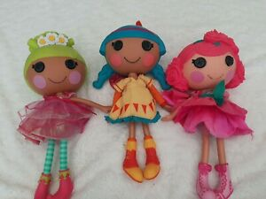 Lalaloopsy large dolls Bundle