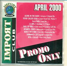 PROMO ONLY / IMPORT CLUB /  APRIL 2000