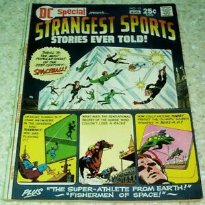 DC Special Presents: Strangest Sports 13, FN+ (6.5) 1971, 50% off Guide!