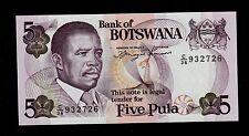 BOTSWANA 5  PULA ( 1992 ) PICK # 11 UNC.