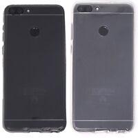 Custodia case Crystal Full Body 360° trasparente per Huawei P Smart cover TPU