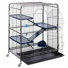 Rodent Rat Ferret Cage Perfect Cage Chinchilla House Pet Home Metal Wheeled