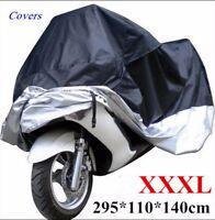 Protective Dust Waterproof Cover for Motorcycle Street Bikes Outdoor Indoor XXXL