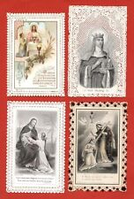 santini merlettati-holy cards lace-canivets-spitzebildichen LOTTO N.265