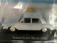 RAMBLER CLASSIC DELUXE (1963) Unforgettable Cars 1:43 Diecast SALVAT #94 ARGENTI