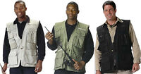 Deluxe Multi-Pocket Safari Outback Hunting Travel Vest