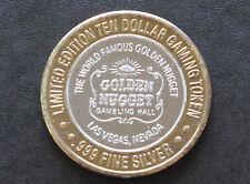 1994 Golden Nugget Casino Gambling Hall Silver Strike Las Vegas Nevada D5814