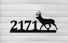 Whitetail Deer Address Sign - Clingermans